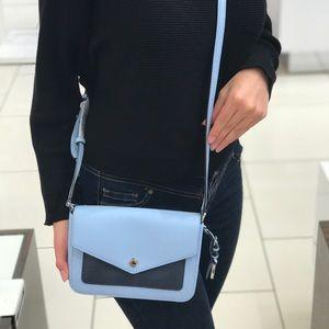 New MK blue small Crossbody bag
